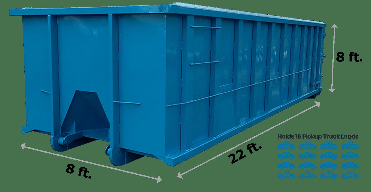 40 Yard Dumpster New